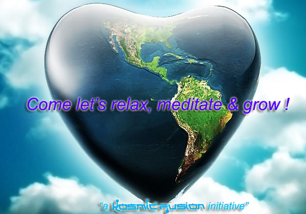 Cosmic Meetup Meditation Relax Meditate Grow Worldwide